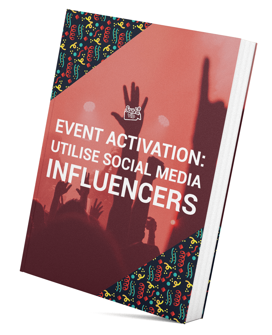 SushiVid eBook - Influencers Event Activation